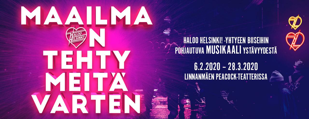 Haloo Helsinki Musikaali