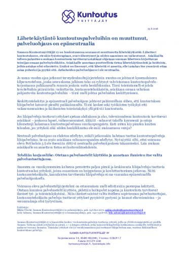 mediatiedote_epaneutraali_palveluohjaus_23.8.2018_suomen_kuntoutusyrittajat_ry.pdf