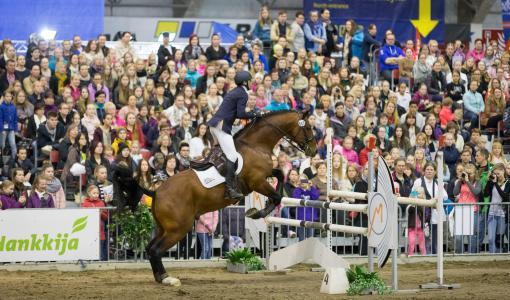 Hevoset 2018 -messut mukaan vastuulliseen Kyllä kypärälle -kampanjaan
