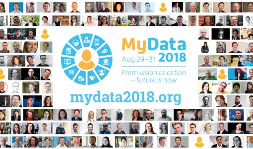 Tervetuloa MyData 2018 -konferenssiin Helsingin Kulttuuritalolle 29.-31.8.2018