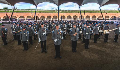 Puolustusvoimien varusmiessoittokunta Orivedelle isäinpäivän aattona