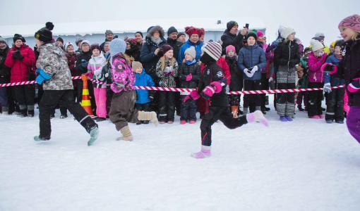 Villasukkajuoksun SM-kilpailut siirtyvät lumitilanteen vuoksi