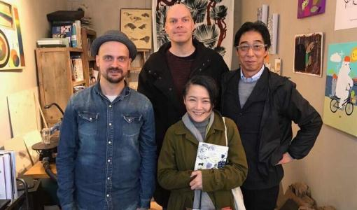 MUJIn johtaja ihastui CupOfTherapy-tuotteisiin: Tilkkanen terapiaa -kirjoja matkaa Japanin markkinoille