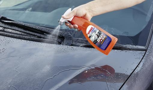 Sumuta ja huuhtele! Nopein tapa suojata auton maalipinta