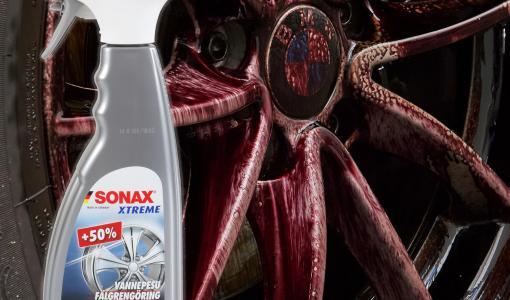 Kestosuosikki SONAX Vannepesu nyt myös suuremmassa pakkauskoossa