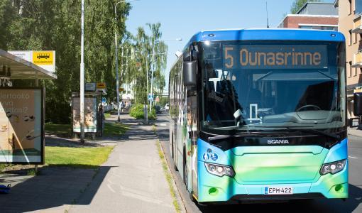 Rovaniemen paikallisliikenteen Linkkarin talviaikataulut on julkaistu