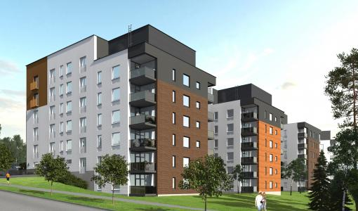 Nurmijärven Klaukkalaan rakentuu yli 300 uutta asuntoa