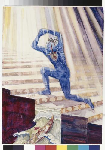aleksanteri-ahola-valo-sininen-sieluni-luovuuden-portailla-kristus-tyynnyttaa-myrskyn-1940-ham-helsingin-taidemuseo.jpg