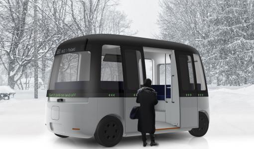 MUJI och Sensible 4 Skapade Gacha – Världens Första Autonoma Skyttelbuss för Alla Väder