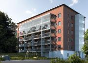 Kuntarahoitus myönsi vihreää rahoitusta Turun Runosmäkeen rakennettavalle kerrostalolle