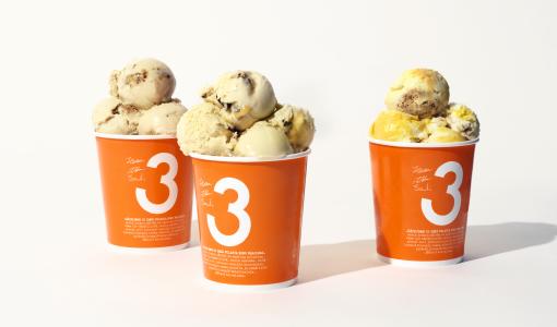 3 Kaveria lanseeraa uuden vähemmän sokeria sisältävän jäätelösarjan