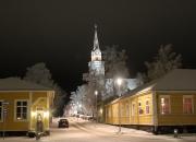 Suunnista joulukalenteri auki Wanhassa Raahessa