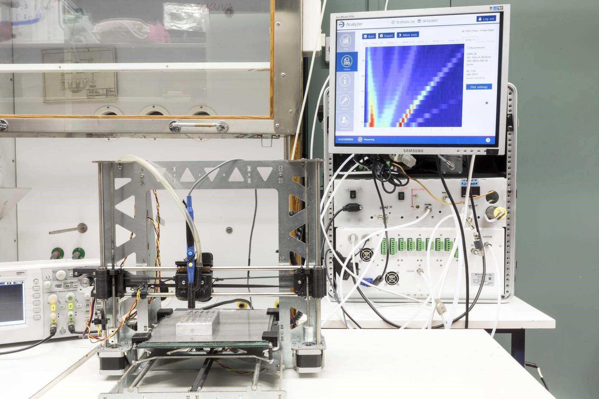 Olfactomics - menetelmän prototyyppi