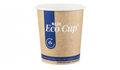 Lavazza Professional lance le gobelet KLIX Eco Cup™, 1er gobelet biodégradable et recyclable dans la filière papier.