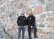 Turkulaiset yrittäjät pyöräilevät talvella Suomen halki