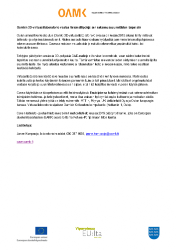 mediatiedote_cave121015.pdf