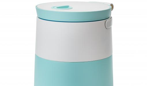 No more mess and bad odours in your kitchen! A new innovative biowaste container makes recycling clean and easy