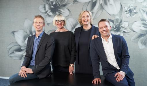 Eija Ailasmaa ja Antti Lehto sisältö- ja viestintätoimisto Era Contentin hallitukseen