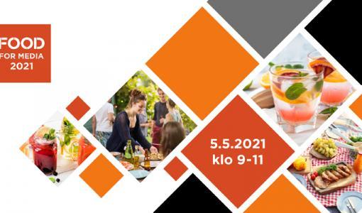 KUTSU Food for Media -lehdistötapahtumaan 5.5.2021