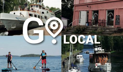 GoLocal-virtuaaliopas johdattaa paikalliseen elämänmenoon Vanhassa Vääksyssä