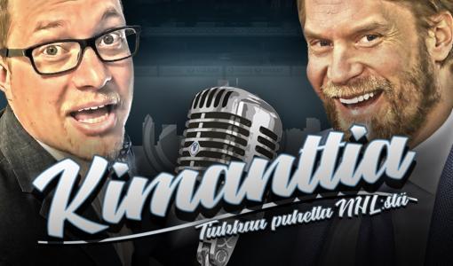 Kimanttista puhetta NHL:stä – Kimmo Timosen ja Antti Mäkisen podcast nyt livenä