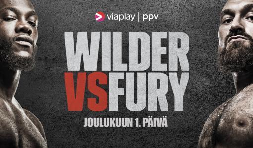 Deontay Wilder ja Tyson Fury iskevät nyrkkeilyn raskaan sarjan mestaruudesta Viaplaylla