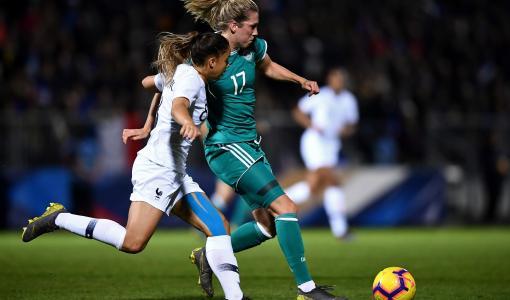 Naisten jalkapallomaajoukkueiden ystävyysotteluita suorana Viasatila ja Viaplayssa