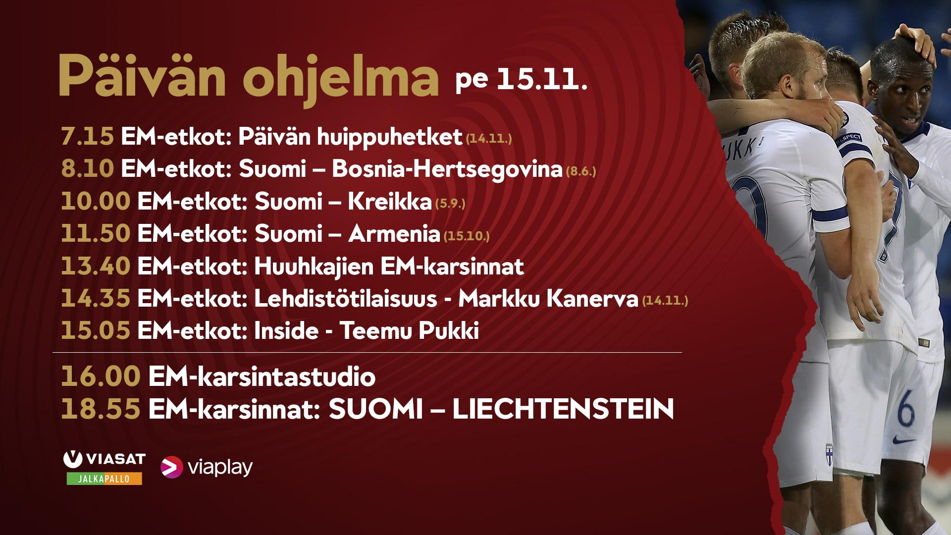 tv-ohjelmat huomenna