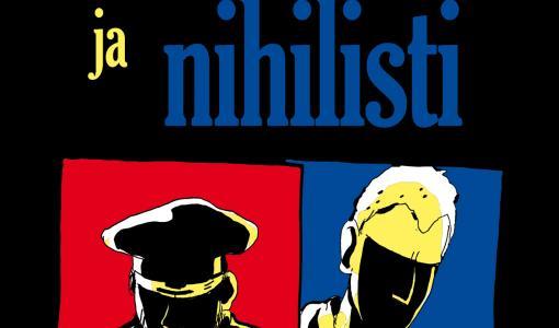 Suuri sarjakuvaromaani kahden taiteilijan matkasta sodanjälkeisessä Euroopassa