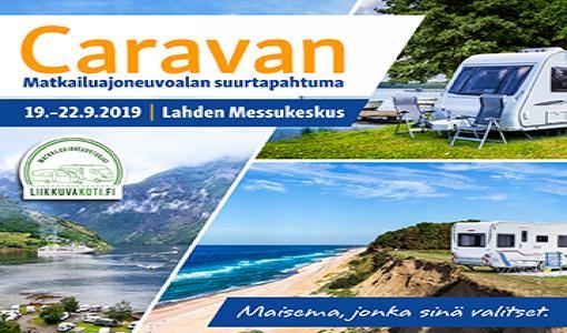 Tervetuloa Caravan 2019 -messujen ennakkokierrokselle