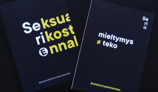 SeriE-hankkeessa tarjotaan tukea henkilöille, joiden seksuaalinen kiinnostus kohdistuu lapsiin - loppuseminaari 19.11.