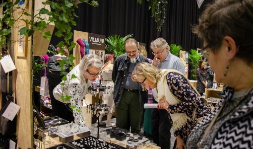Hantverk ökar vårt välmående – 50996 besökte Tammerfors hantverksmässa