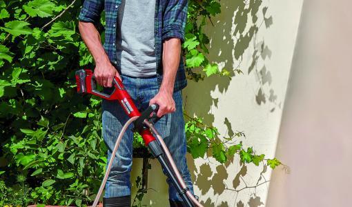 Akkuterassipesuri Picobella puhdistaa pihasi pinnat