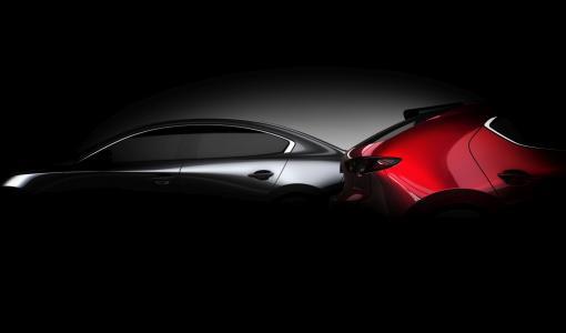Täysin uusi Mazda3 ensiesitellään Los Angelesin autonäyttelyssä