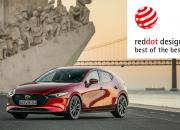 Täysin uusi Mazda3 on voittanut korkeimman 2019 Red Dot muotoilupalkinnon