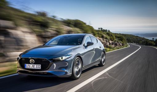 Täysin-uusi 2019 Mazda3 sai 5 tähden Euro NCAP tuloksen