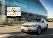 Uusi Mazda MX-30 saavutti täyden 5 tähden Euro NCAP tuloksen