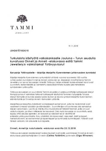 lehdisto-cc-88tiedote-19.11.2018-tammi-jewellery-onneli-ja-anneli-ysta-cc-88vyys-korusarja-valkokankaalla-jouluna.pdf