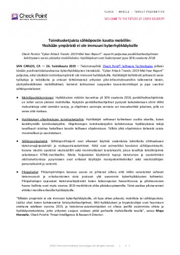checkpoint_cyberattacktrends_tiedote_260719.pdf