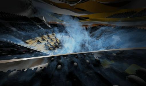 Ilmanvaihdon pienentäminen puoleen estää koronaviruksen leviämistä konserttisalissa — Pariisin filharmonikot ottivat simulaatiotyökalut avuksi konserttisalien aukaisemiseksi uudelleen