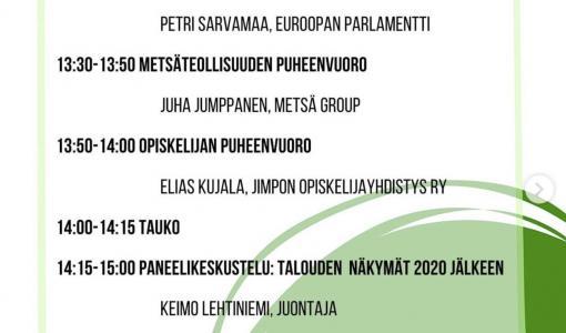 Tervetuloa Itä-Suomen Metsäpäivään!