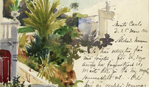 Tekoäly muunsi Albert Edelfeltin kirjeet helposti luettavaan ja haettavaan muotoon