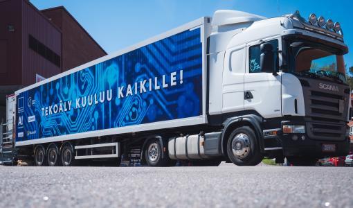 AI Truck helps Finns embrace digital era