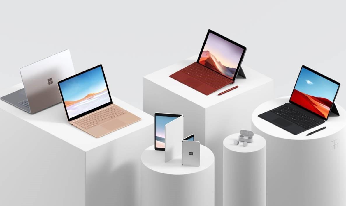 Uudet Surface-laitteet