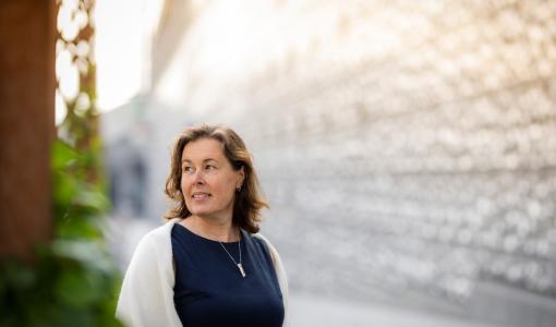 Vuoden 2021 maisemasuunnittelija on Monica Elander-Heino