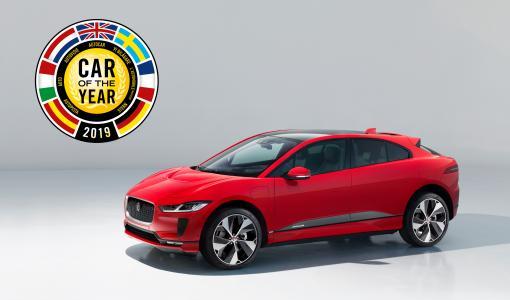 Jaguar I-PACE on Vuoden Auto Euroopassa 2019