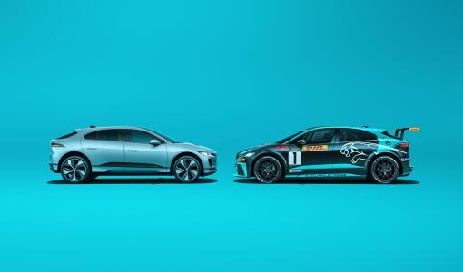 Kilparadalta katukäyttöön: Jaguar parantaa palkittua I-PACE täyssähköautoa kilpasarjan opein
