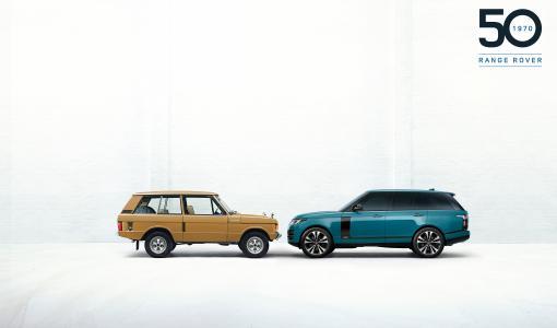 Range Rover juhlistaa 50 vuotta täynnä maastoajon innovaatioita ja luksusta