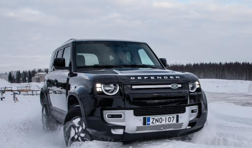 Uusi Land Rover Defender LCV pakettiauto Suomen markkinoille
