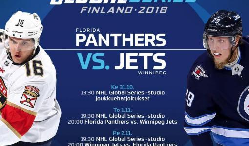 NHL Global Series -viikko täynnä maailman parasta kiekkoa Viasatilla ja Viaplayssa